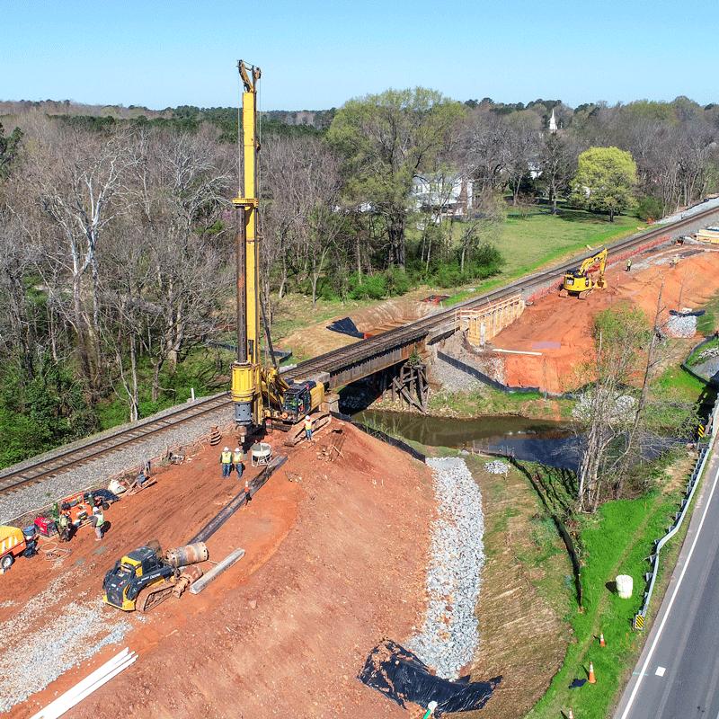 Infrastructure Improvements | North Carolina Railroad